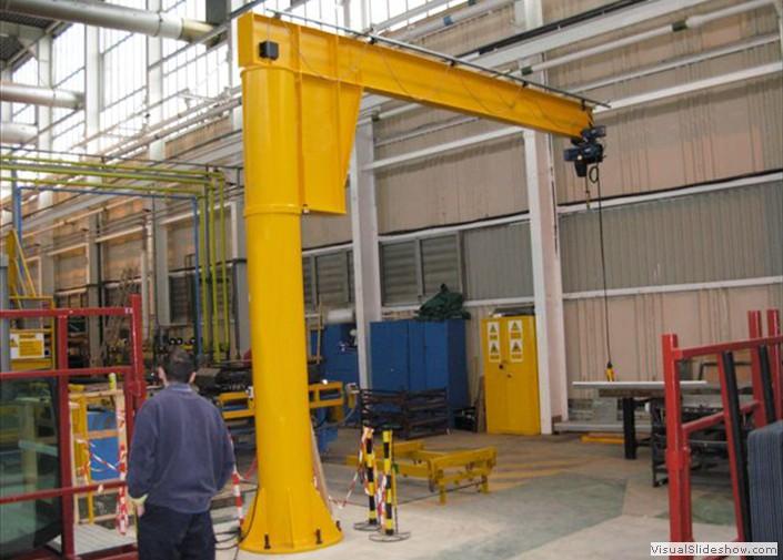 Jib Crane Testing : Girder crane a frame good hoist jib